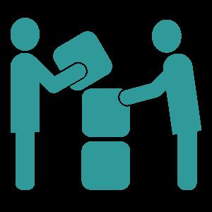 Collaboration and Compassion Icon